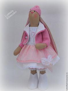 Зайка Зефирка - розовый,зайка,заяц,зайчик,зайка тильда,заяц тильда,зайка девочка