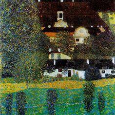 Gustav Klimt, ( 1862-1918) Castello II sull' Attersee