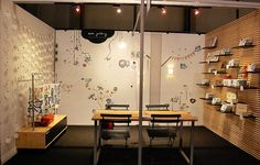 Wee Gallery Trade Show Booth at NYIGF 2010 by surya25, via Flickr