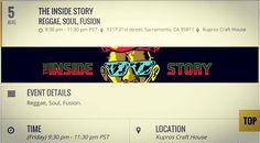 Swing by tonight for the Inside Story on all things reggae funk & soul with The Inside Story. And make sure to check out our website for all the goings-on at the house! (link in profile)  #Sacramento #SacCulture #localmusic #tonight #livemusic #thepeopleofsacramento #supportlocalmusic #exploremidtown