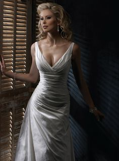Autumn Royale - by Maggie Sottero - this one comes in silk