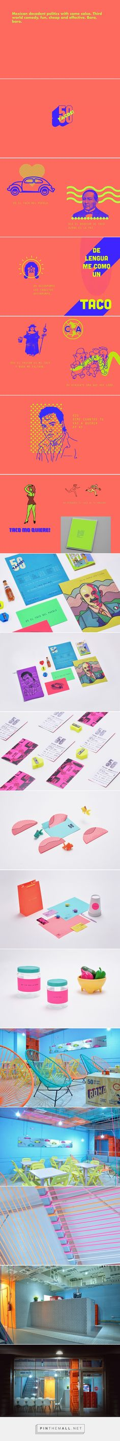 50 tacos on Behance... - a grouped images picture - Pin Them All