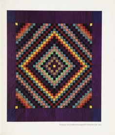 12 great quilts from the American Wing catalogue. 1974. Metropolitan Museum of Art (New York, N.Y.). Thomas J. Watson Library. Metropolitan Museum of Art Publications. #quilts #american #design #patterns #geometric