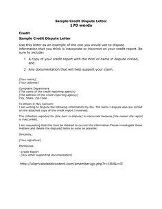 credit card dispute letter sample credit repair secrets exposed here