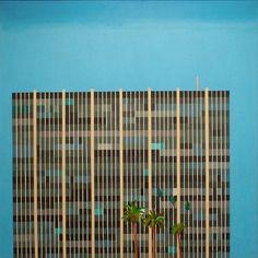 DAVID HOCKNEY, SAVINGS AND LOAN BUILDING, 1967