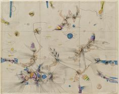 Roberto Matta.  Untitled.  1942.  Crayon and pencil on paper.  19 x 24 in.  MOMA collection