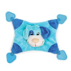 Puppy Snugglers Blue Plush Toy and Blanket by Zanies