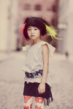 If my child is a girl, hopefully she will dress like this.