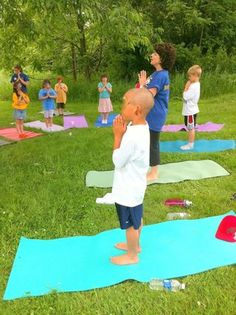Great children's yoga website, Check it out!