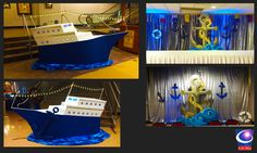 Cruise Ship Theme Event Decor, Designed and built by Sixth Star Entertainment. www.sixthstarentertainment.com