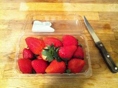 strawberries as a facial toner.