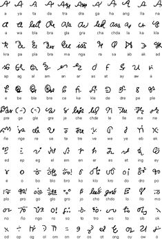 Details of Eskayan script, a syllabic script used to write Eskayan, a language isolate spoken on Bohol Island in the Philippines. Spanish Alphabet Letters, Alphabet Symbols, Alphabet Writing, Greek Alphabet, Ancient Alphabets, Ancient Scripts, Alibata, Native Symbols, Baybayin