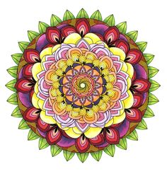 In a nutshell, a mandala is a consecrated sacred circle. Now they are appearing more and more in Mandala Coloring Pages for Adults. Abstract Coloring Pages, Mandala Coloring Pages, Coloring Book Pages, Stress Coloring Book, Swear Word Coloring Book, Crochet Video, Crochet Diy, Mandalas Painting, Mandalas Drawing
