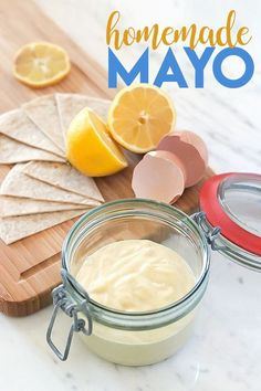 Zero Carb Mayonnaise - Keto, Paleo, Gluten-free - no sugar or soybean oil in this recipe! Smear your favorite spread guilt-free using our keto & paleo-friendly recipe for homemade mayo!