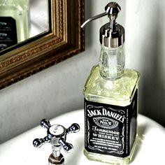 Quick Gift: Jack Daniel's Soap Dispenser - Curly Birds curlybirds.com