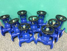 Cast Iron Flanged Bellows Sealed Globe Valves http://www.valvesonline.co.uk/cast-iron-globe-valve-bellows-sealed-flanged-pn16.html #castiron #bellowssealedglobevalve #globevalve #valve #steam #steamvalve #engineering