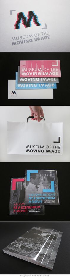 museum of the moving image on Behance... - a grouped images picture - Pin Them All
