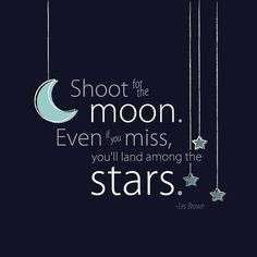 shoot for mooninspirational-quotes-tumblr