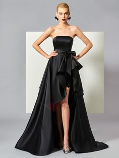 fb3d5501fe This is a stunning dress for your next diner party. You should take a look  at this Cute Stylish A Line High Low Asymmetry Evening Dress Related