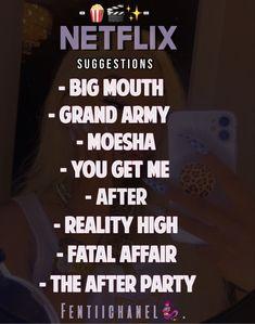 Must Watch Netflix Movies, Movies To Watch Teenagers, Netflix Hacks, Netflix Tv Shows, Good Movies On Netflix, Movie To Watch List, Movie Hacks, Movie Ideas, Movie Memes