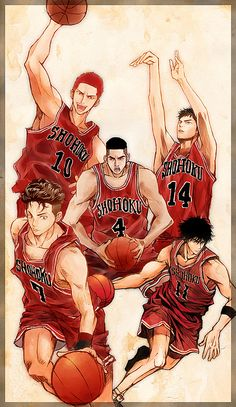 Slam Dunk Sendoh Vs Rukawa 1000+ images about Ruk...