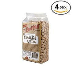 Bob`s Red Mill Beans Garbanzo, 25-Ounce (Pack of 4) $17.60