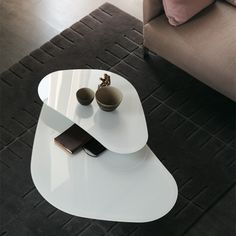 SIDE TABLES ATOLLO TWIN | Cattelan Italia