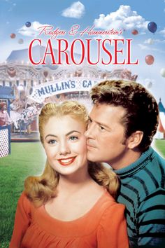 Carousel the musical with Shirley Jones and Gordon McRae. This musical totally made me sad and depressed, but more of a happy/sad way by the end. This was actually the first musical that discussed the shocking topic of spousal abuse. Classic Movie Posters, Classic Movies, Classic Tv, Old Movies, Great Movies, 1960s Movies, Vintage Movies, Love Movie, Movie Tv
