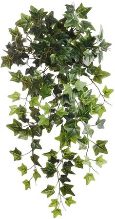 """Green Ivy Artificial Plant 19"""" Hanging w 204 Leaves - Set of 6"""