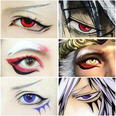 Credit to facebook user # Winnie Yap # Youtube zwinnieyap #eyemakeup#cosplay#cos#cosplaymakeup#winnieyap#malasia#sugoi#kakkoii#kawaii#awesome#makeup#cool#try#anime#otaku#animemakeup#animefreak#fangirl#fandom#contactlens Cosplay Tutorial, Cosplay Diy, Cosplay Makeup, Costume Makeup, Cosplay Costumes, Anime Cosplay, Anime Eye Makeup, Anime Eyes, Fangirl