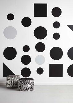 KARWEI | Muuridee No.6: maak van verschillende soorten behang een spectaculair zelfgemaakt behangpatroon. #diy