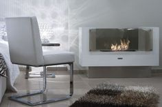 Biokominek INSIGNIO  1100x754 mm Teak, Accent Chairs, Furniture, Home Decor, Upholstered Chairs, Interior Design, Home Interior Design, Arredamento, Home Decoration