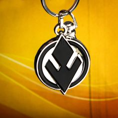 Show your allegiance to the Sith with this enamel keychain from It's available from