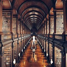 Writing inspiration: castle library