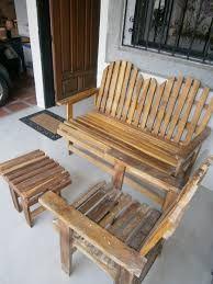 Resultado de imagen para muebles rusticos de madera