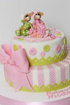 Torturi - Viorica's cakes: Tort botez Rebeca Nicole