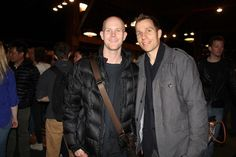 Tyler Crowley @steepdecline and Andrew  - Yammer's Founders Party - Launch conference 2013