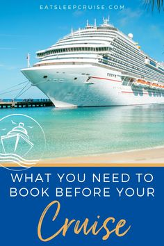 We can't wait for the return of cruising in 2021. If you are planning a voyage this year, you will want to make sure you have not only booked your cruise, but you have secured all of the necessary additional items. Not sure where to start? Don't worry, we have you covered with our complete guide to everything you need to book before your cruise in 2021!