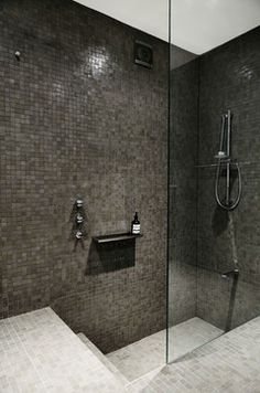 Thats not a bath thats a step down into the shower. Sunken Bath Home Design, Decorating, and Renovation Ideas on Houzz Australia