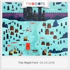 I won the Onyx Wolf at the Battle of the Night Fort! Can you? - playtwo.do/ts #TwoDots