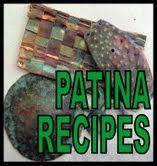 Patina Recipes. Not enameling, but another way to achieve color.