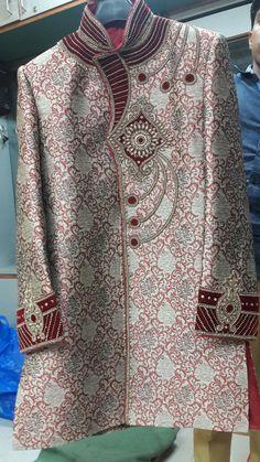 Sherwani For Men Wedding, Wedding Men, Asian Men, Men Dress, Button Down Shirt, Men Casual, India, Mens Tops, Shirts