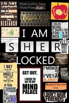 I AM SHERLOCK COLLAGE