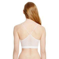 Women's Seamless Bralette Fresh White XS - Xhilaration
