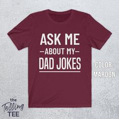 Funny Fathers Day Gifts, Joke Gifts, Gifts For Father, Dad Humor, Dad Jokes, Funny Dad, Bad Puns, You Are The Father, My Dad