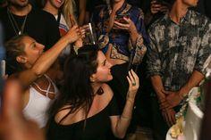 Lana at her birthday party at '1OAK' (June 22, 2017)