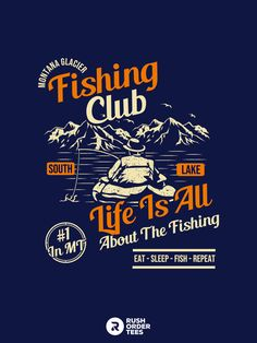 Click here to customize this design for t-shirt printing today! We are provided tons of free pre-made designs to choose from for any sport or club. Check out our graphics board and t-shirt design board for more pinterest exclusive designs. #fishing #bait #tackle #summer #camping #customapparel #tshirtdesign Fishing Bait, Fishing Shirts, Image Font, Design Your Own, Custom Clothes, Printed Shirts, Shirt Designs, Printing, Camping