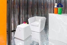 #Lingotto #armchair and #Lingottino #pouf design #Garilab by #PiterPerbellini for #altreforme@Salone del Mobile.Milano  #MetallicDiscoGalaxy #Galactica #altreformestarringChupaChups new collections 2017 #designweek #interior #home #decor #homedecor #furniture with #woweffect #aluminium #art #architecture #design #decoration #interiordesign #fashion #style #home #hotel #milan #italy #madeinItaly #bespoke #luxury #furnishing