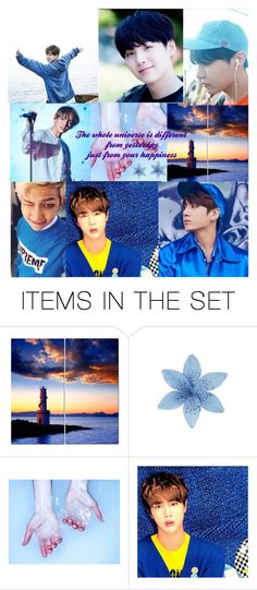 """Serendipity"" by katniss4102002 ❤ liked on Polyvore featuring art, contest, Blue and bts"