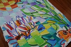 This is a terrific blog for art lessons. Check it out!